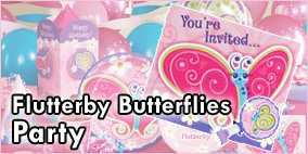 Flutterby Butterflies Party