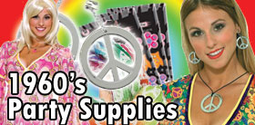 1960s Party Supplies