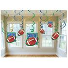 Football Swirl Decorations