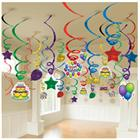 Balloon Fun Mega Value Pack Swirl Decorations